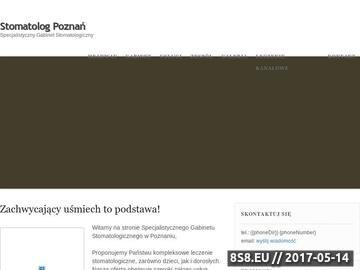 Zrzut strony Stomatolog Poznań