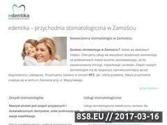 Miniaturka domeny stomatologzamosc.pl