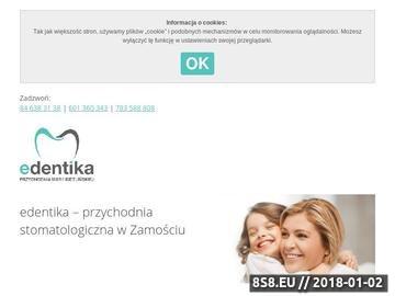 Zrzut strony NZOZ Maria Kietlińska Przychodnia Specjalistyczna