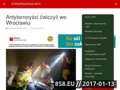 Miniaturka domeny www.strazpozarna.info