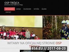 Miniaturka domeny straztrojca.osp.org.pl