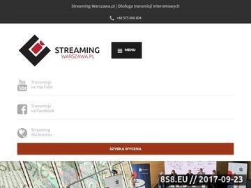 Zrzut strony Transmisje online