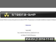 Miniaturka domeny www.strefa-bhp.pl