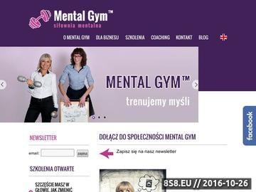 Zrzut strony Coaching Wrocław - trener osobisty - Strefa Zmiany