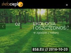 Miniaturka domeny strefaciepla.pl