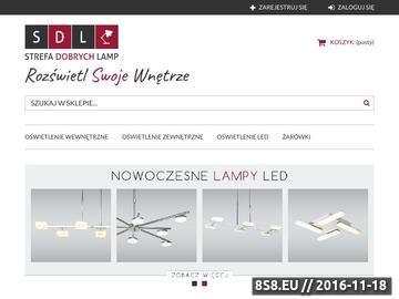 Zrzut strony Lampy podłogowe - salon SDL w Warszawie