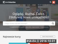 Miniaturka domeny strefakursow.pl