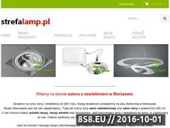 Miniaturka domeny strefalamp.pl