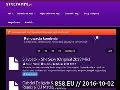 Miniaturka domeny strefamp3.eu