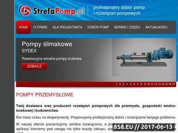 Zrzut strony Oferta pomp - Strefapomp.pl