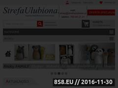 Miniaturka domeny www.strefarzeczyulubionych.pl