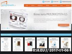 Miniaturka domeny www.strefawizytowek.pl