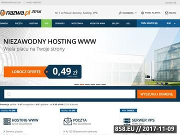 Zrzut strony Strony internetowe tworzenie i projektowanie od podstaw - Wrocław