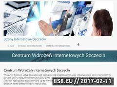 Miniaturka domeny strony.internetowe.szczecin.pl