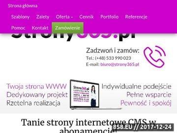 Zrzut strony Tanie strony internetowe