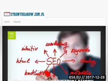 Zrzut strony Tworzenie stron internetowych Kraków