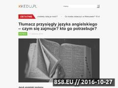 Miniaturka domeny www.strudzinski.pl