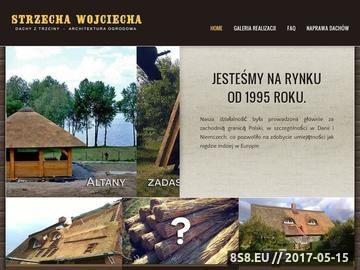 Zrzut strony Dachy z trzciny i nie tylko - Strzecha Wojciecha