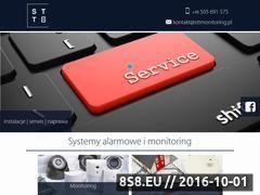 Miniaturka domeny www.sttmonitoring.pl
