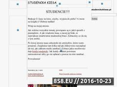 Miniaturka domeny www.studenckakiesa.pl