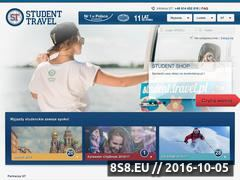 Miniaturka domeny student.travel.pl