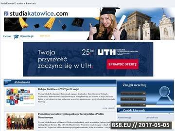 Zrzut strony Studia Katowice
