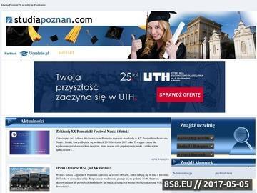 Zrzut strony Studia Poznań