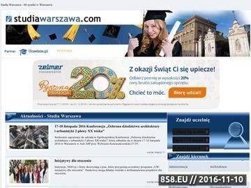 Zrzut strony Prezentacje uczelni wyższych