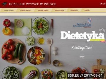 Zrzut strony Studia Łódź