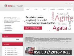 Miniaturka domeny www.studiazagranica.pl