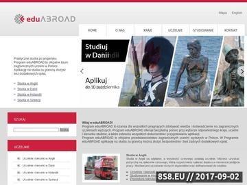 Zrzut strony Studia za granicą Studia w Danii Program eduABROAD