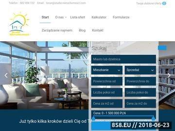 Zrzut strony Studio Nieruchomości - nieruchomości Inowrocław