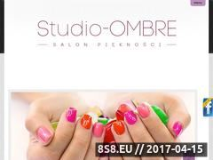 Miniaturka domeny www.studio-ombre.pl