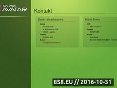 Miniaturka domeny studioavatar.pl