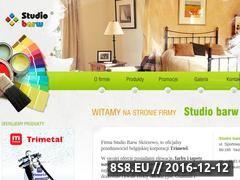 Miniaturka domeny www.studiobarw.com.pl