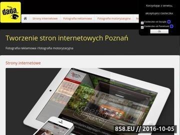 Zrzut strony Studio Dada - Tworzenie stron internetowych i Fotografia reklamowa