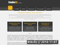 Miniaturka Studio GS - budowa stron (studiogs.pl)
