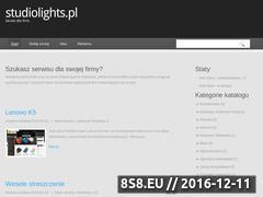 Miniaturka domeny www.studiolights.pl