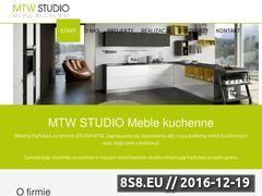 Miniaturka Producent mebli kuchennych na wymiar we Wrocławiu (studiomtw.pl)