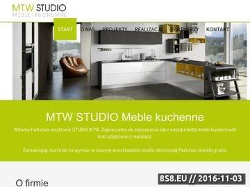 Zrzut strony Kuchnie na wymiar we Wrocławiu