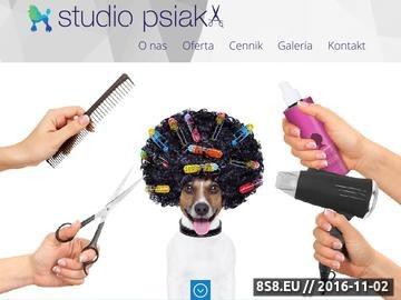 Zrzut strony Psi fryzjer Bydgoszcz