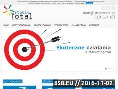 Miniaturka domeny studiototal.pl