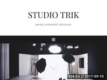Zrzut strony Kamerzysta Śląsk - Studio Filmowe Trik