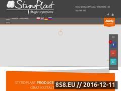 Miniaturka domeny www.styroplast.pl