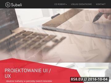 Zrzut strony Strony internetowe - Bydgoszcz, Toruń, Warszawa, Poznań, Kraków