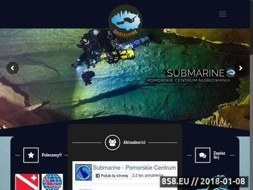 Zrzut strony Serwis, wypożyczanie sprzętu nurkowego Gdynia