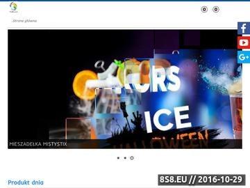 Zrzut strony Sprzedaż suchego lodu