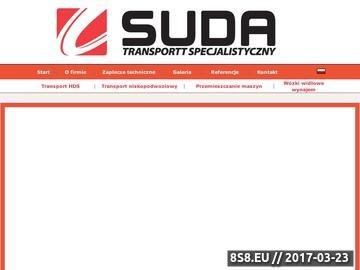 Zrzut strony Transport i relokacja maszyn