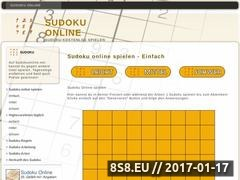 Thumbnail of Sudoku Online Website