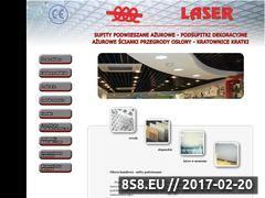 Miniaturka domeny www.sufitylaser.pl